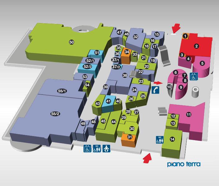 Centro commerciale piano terra centro commerciale e for Creatore del piano terra del negozio